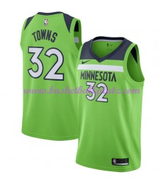 Minnesota Timberwolves Trikot Herren 2018-19 Karl Anthony Towns 32# Statement Edition Basketball Tri..